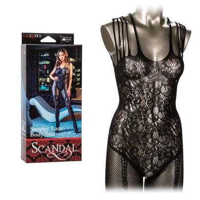 Scandal Strappy Lace Body Suit - Sexy Nights Deals