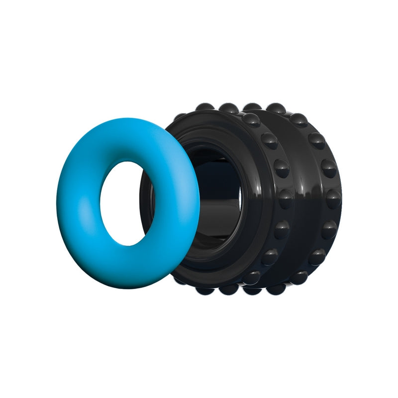 Sir Richard's Control Pro Performance Beginner C-Ring Blue - Sexy Nights Deals