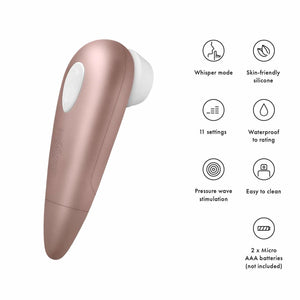 Satisfyer 1 Next Generation Wave Clitoral Vibrator - Sexy Nights Deals