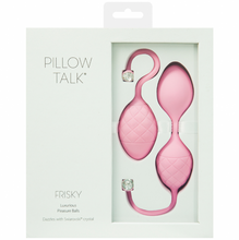 Load image into Gallery viewer, Pillow Talk Frisky Pleasure Balls Pink - Sexy Nights Deals