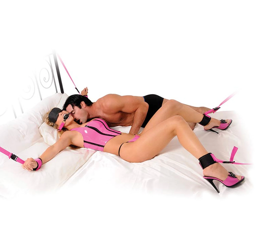 Fetish Fantasy Pink Passion Bondage Kit - Sexy Nights Deals