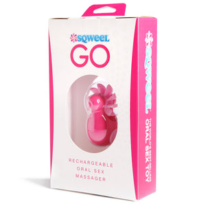 Sqweel Rechargeable Oral Sex Simulator - Sexy Nights Deals