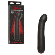 Load image into Gallery viewer, Kink - The Hot Spot - Silicone Vibrating Flex Massager Black - Sexy Nights Deals