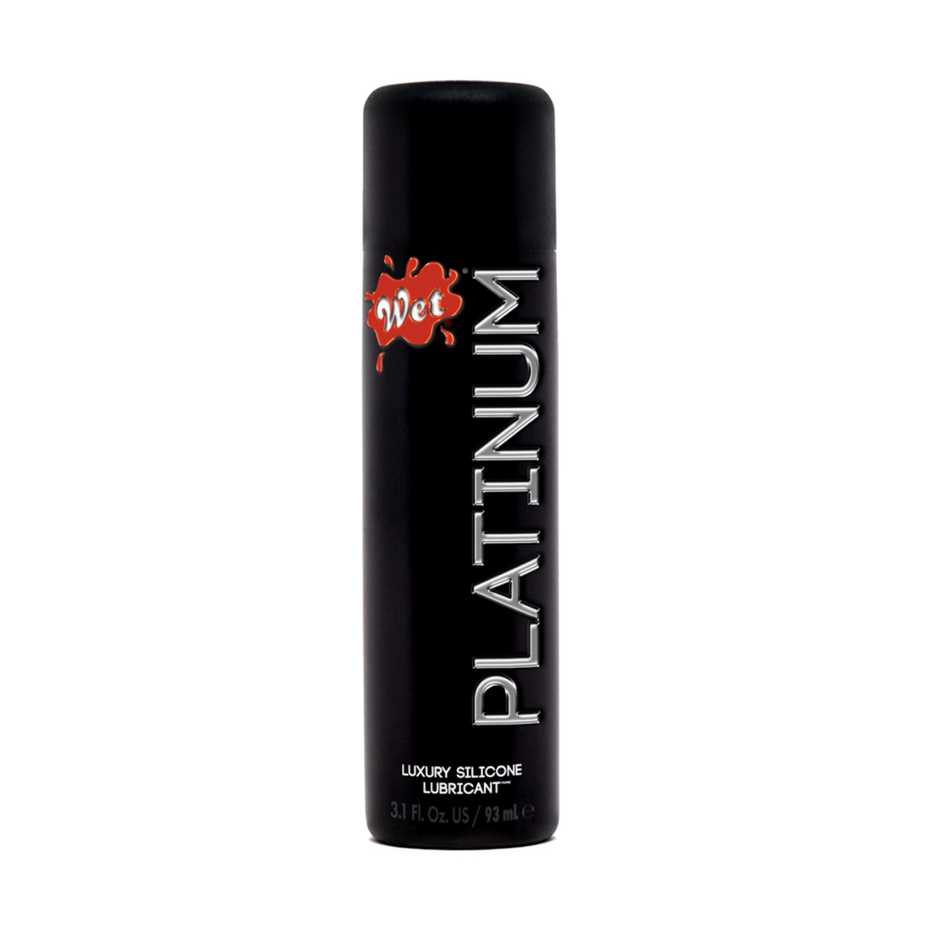 Wet Platinum Luxury Silicone Lubricant - 3 Fl. Oz. - Sexy Nights Deals