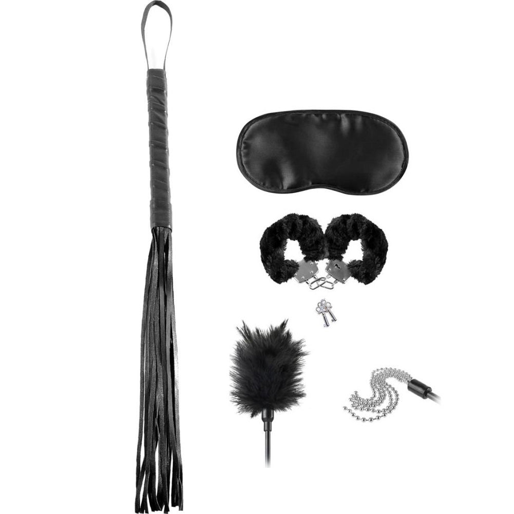 Fetish Fantasy Bondage Teaser Kit Black - Sexy Nights Deals