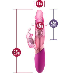 Sexy Things Rechargeable Mini Rabbit Vibrator Pink - Sexy Nights Deals