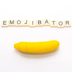 Emojibator Banana Vibrator Yellow - Sexy Nights Deals