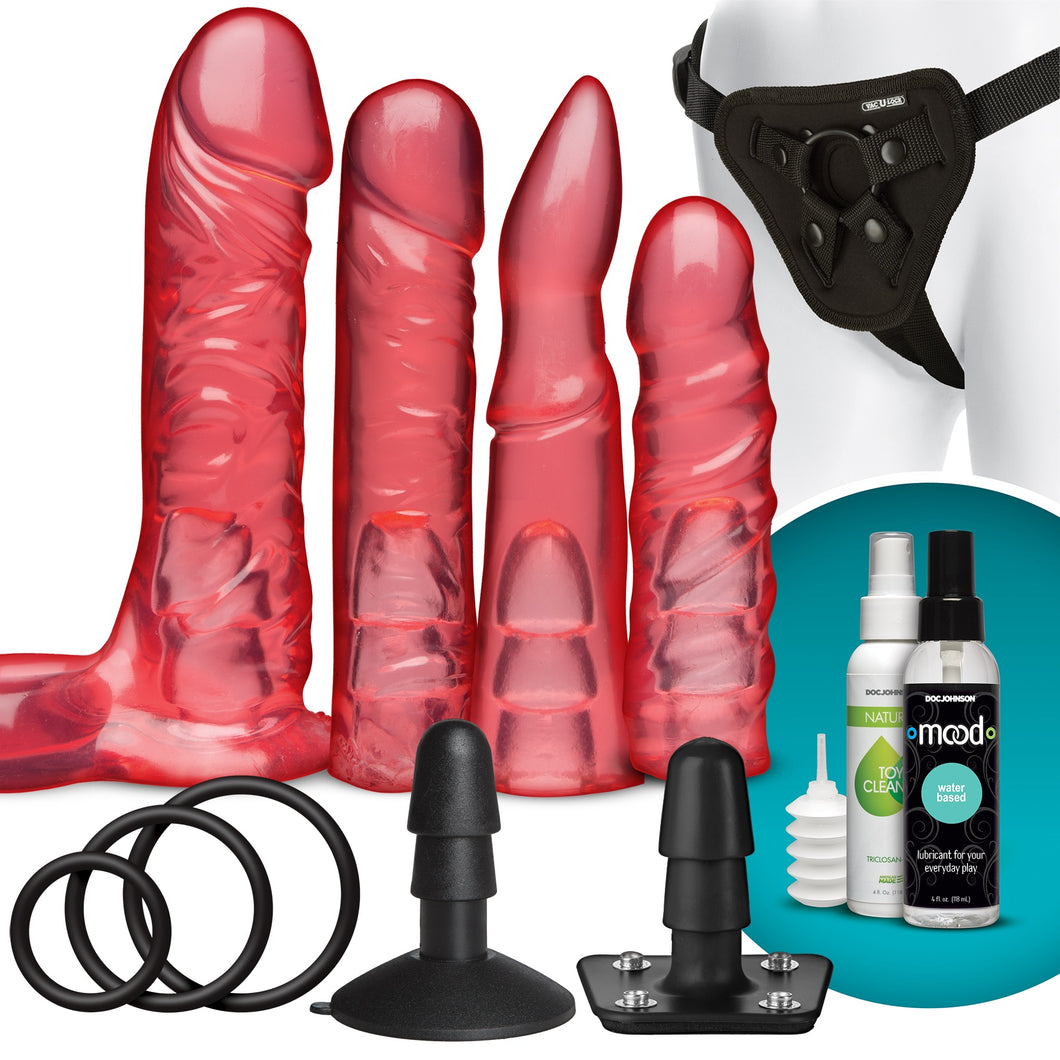 Vac-U-Lock - Crystal Jellies Set - Sexy Nights Deals