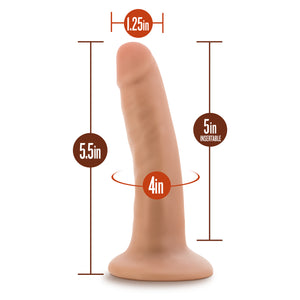 Dr. Skin - 5.5 Inch Cock With Suction Cup - Sexy Nights Deals