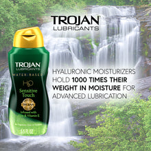 Load image into Gallery viewer, Trojan H2O Sensitive Touch Lubricant 5.5oz - Sexy Nights Deals