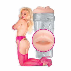 Jesse Jane Clear Mouth Stroker - Sexy Nights Deals