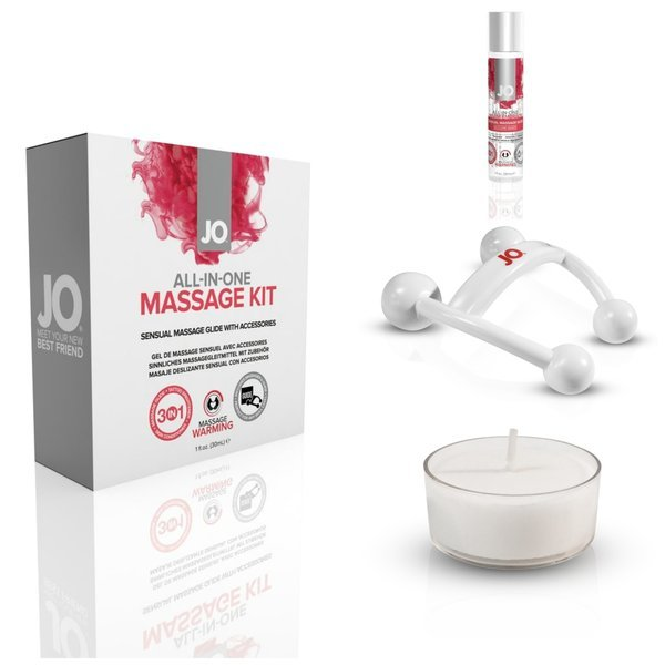 JO All In One Massage Gift Kit - Sexy Nights Deals