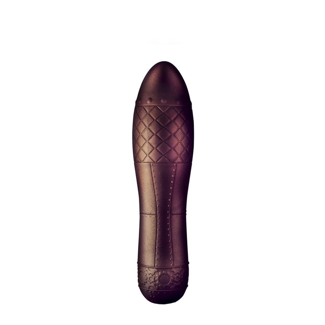 Dr Rocco's Zeppelina Metallic Silicone Vibrator - Sexy Nights Deals