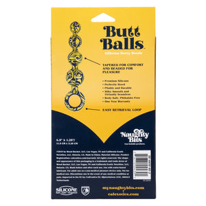 Naughty Bits Butt Balls Silicone Booty Beads - Sexy Nights Deals
