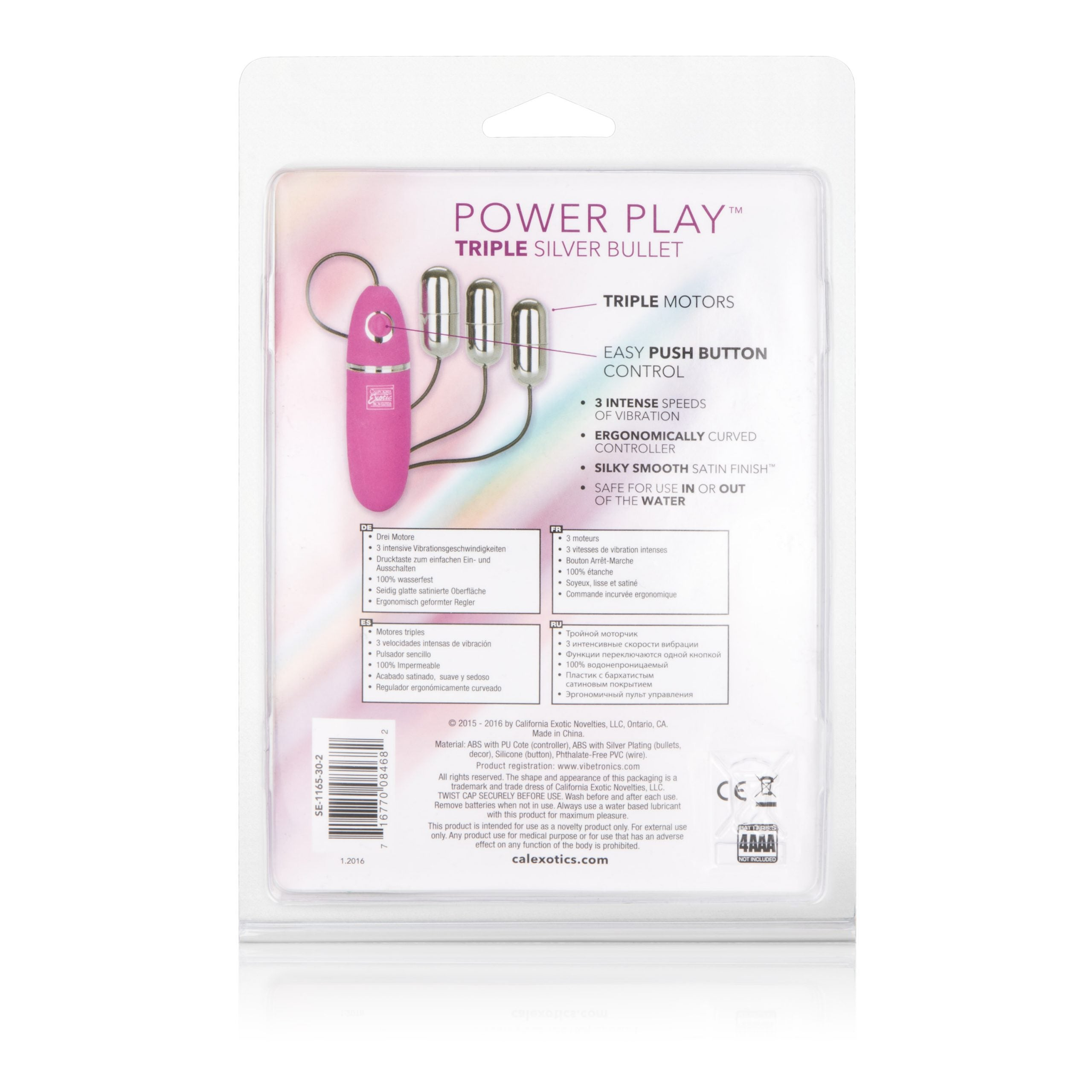 Power Play Triple Silver Bullet - Sexy Nights Deals