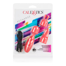 Load image into Gallery viewer, CalExotics Rechargeable Massager Kit - Sexy Nights Deals