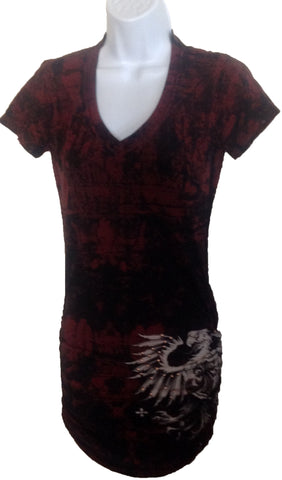 affliction mini dress $10