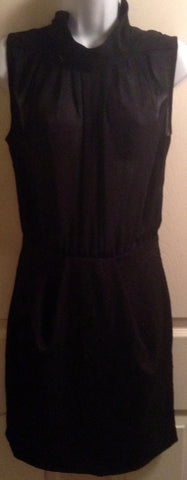 black sheer/suade $20