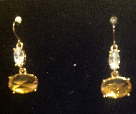 citrine earrings $154.70