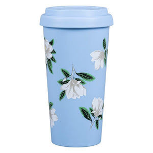 Draper James Magnolia Travel Mug