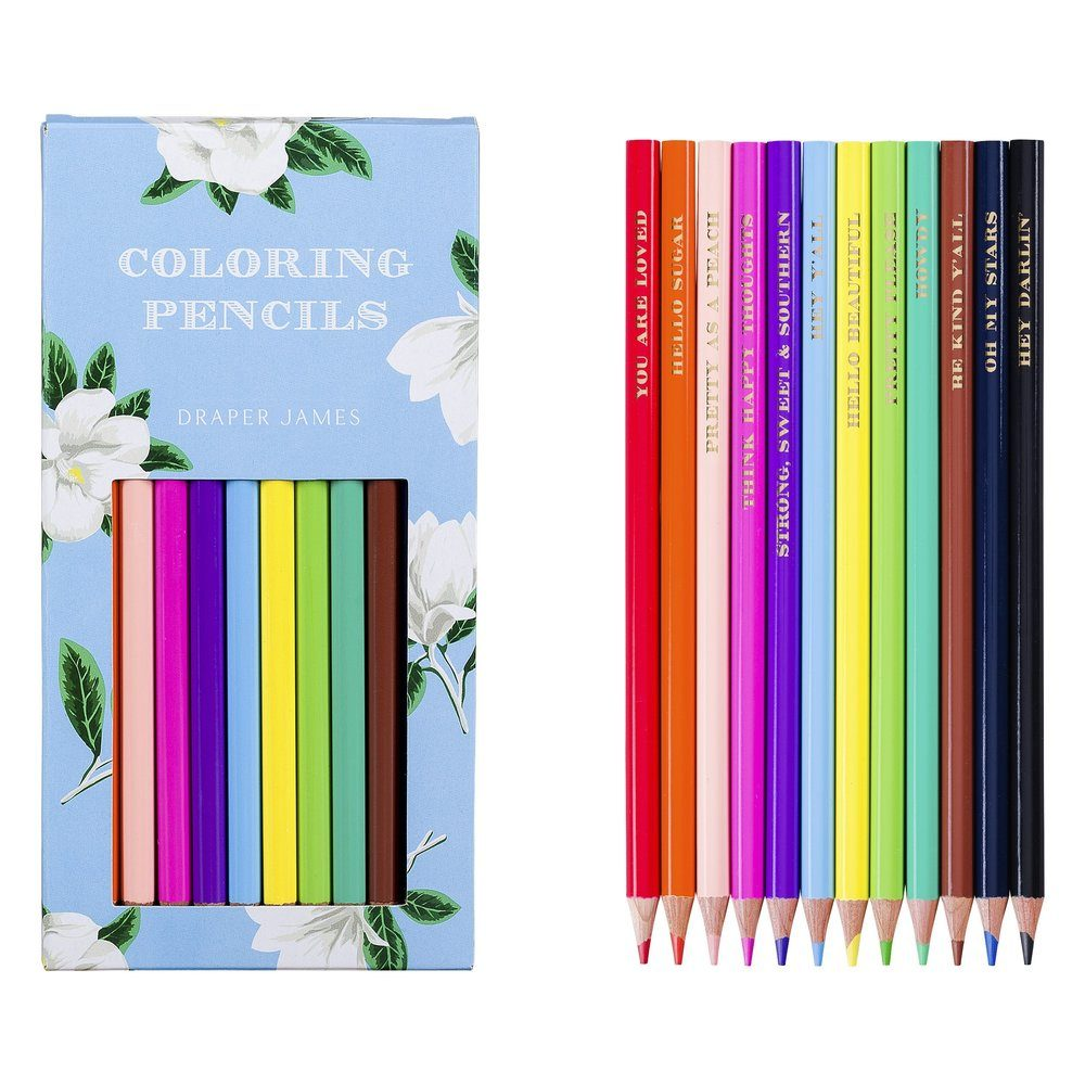 Draper James Coloring Pencil Set