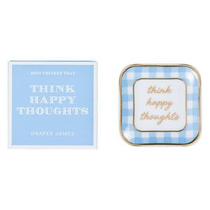 Draper James Think Happy Thoughts Trinket Tray
