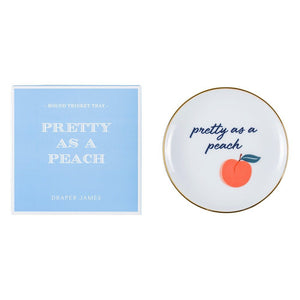 Draper James Pretty as a Peach Trinket Tray