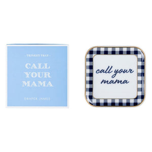 Draper James Call Your Mama Trinket Tray