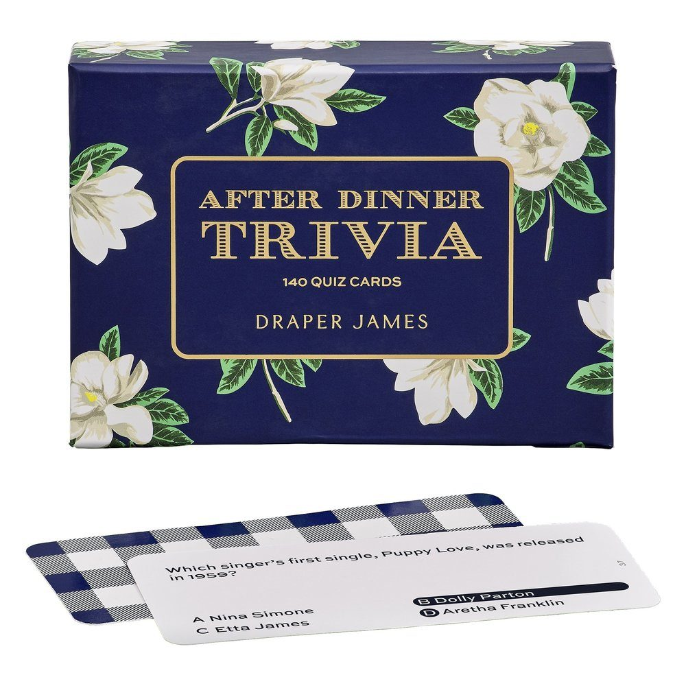 Draper James After Dinner Trivia Set