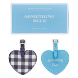 Draper James Heart Shaped Luggage Tags