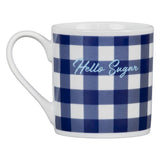 Draper James Hello Sugar Gingham Mug