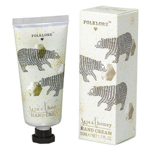 Folklore Hand Cream - Honey 50ml