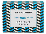 Ridley's Games Room Car Buff Trivia