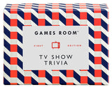 Ridley's Games Room TV Show Trivia