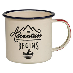 Gentlemen's Hardware Cream Adventure Begins Enamel Mug