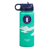 Gentlemen's Hardware Glow In The Dark Water Bottle - 24 Fl Oz