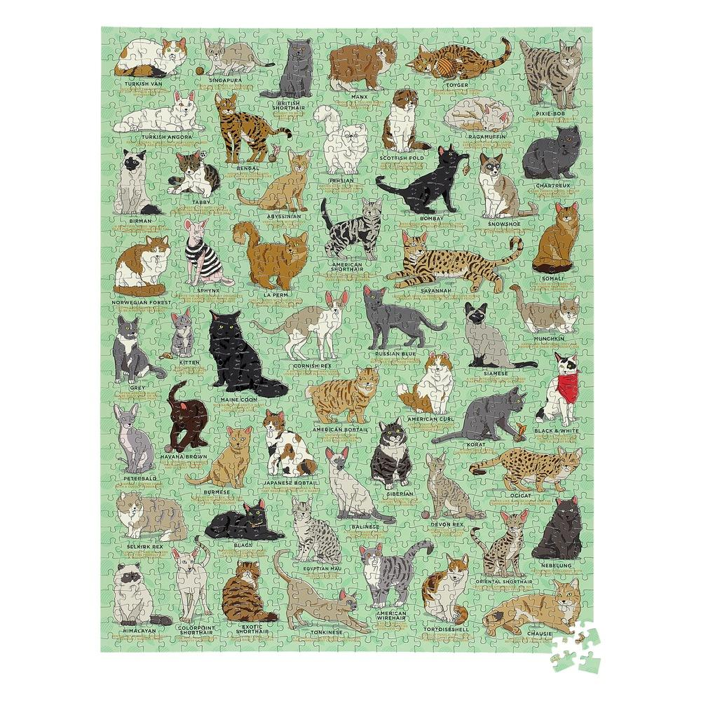 Ridleys Cat Lovers Jigsaw Puzzle, 1000
