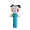 Petit Collage Bear Organic Squeaker Rattle