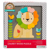 Petit Collage Chunky Lion Wood Tray Puzzle