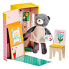 Petit Collage Beatrice The Bear Animal Play Set