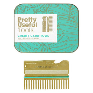 Pretty Useful Tools Gold Credit Card Tool