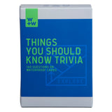 W+W Things You Should Know Trivia