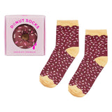Yes Studio Organic Chocolate Sprinkle Donut Socks