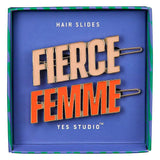 Yes Studio 'Femme & Fierce' Hair Slides Set of 2