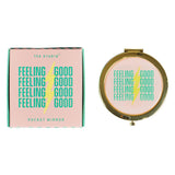 Yes Studio 'Feeling Good' Pocket Mirror