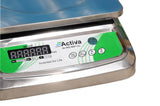 ACTIVA 30kg weighing scale,REAR display weight machine for shop,SSbody
