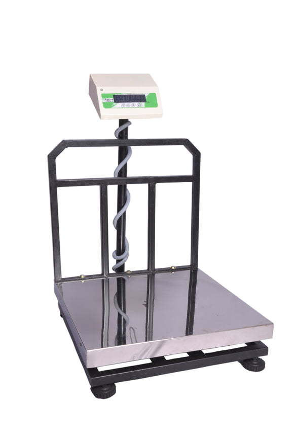 ACTIVA 300kg weighing scale,SS Commercial weight machine for Industry,50g accuracy