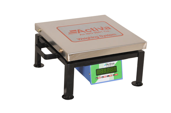 ACTIVA 300kg weighing scale,REAR display weight machine for shop,SS 50g accuracy