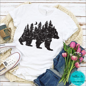 Bear Tree Scene T-Shirt