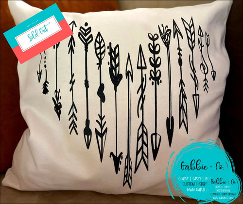 Boho Arrrow - Pillow Cover
